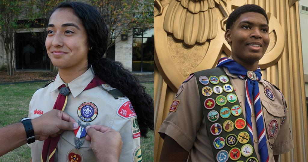 Congratulate your Eagle Scout in an upcoming special edition of Scout Life