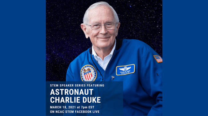 Astronaut Charles Duke