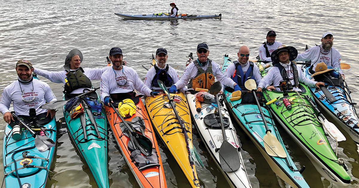 Scouters prepare for another paddling trip to fight against cancer