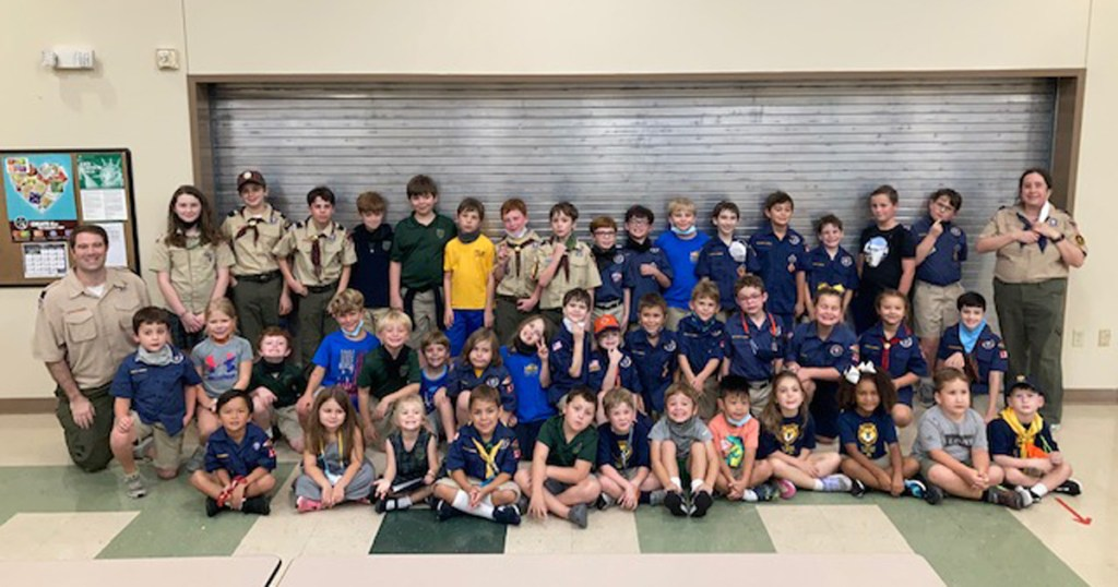 There are six (yes, six) sets of twins in this Cub Scout pack from Louisiana