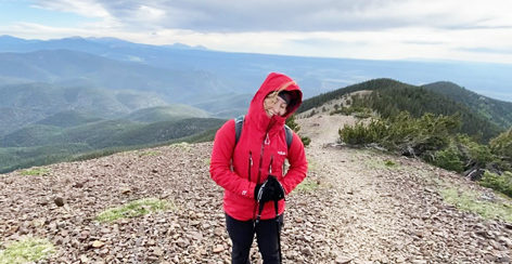 How a 3-week, 200-mile trek at Philmont helped her learn to 'savor every moment'