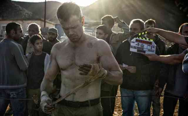Matt Damon's back as Jason Bourne in the first look at the as-yet-untitled Bourne 5.