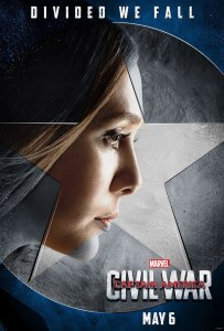 Captain America: Civil War Scarlet Witch Character Poster