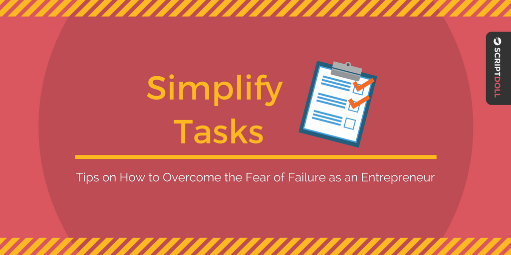 overcome the fear of failure as an entrepreneur