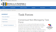 APA Task Forces CNMTF