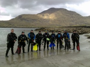 PADI Drysuit Specialty at Scubadive West on Sunday