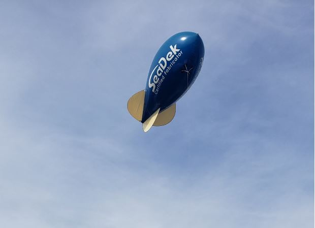 SeaDek blimp shaped balloon.