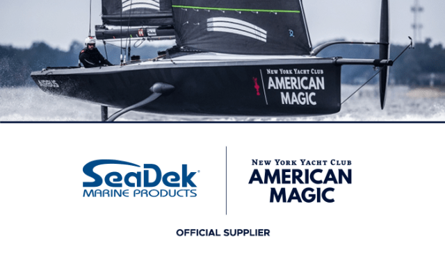 SeaDek is proud to be an official supplier for New York Yacht Club American Magic, Challenger for the 36th America's Cup