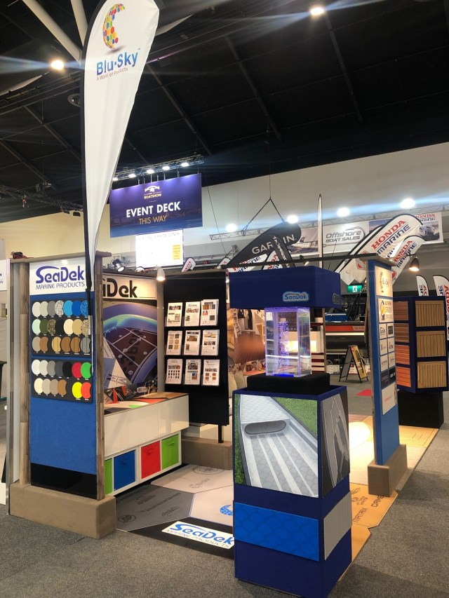 Photo of SeaDek Booth at the Sydney International Boat Show