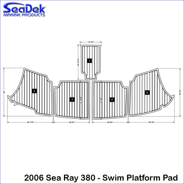 2006Searay380_SwimPlatformPad