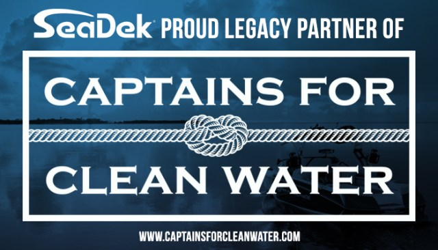 Captains for Clean Water SeaDek Partner announcement