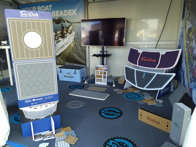 Ocevan Booth at the Boat Show