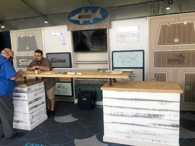SeaDek Booth Open Water Concepts Palm Beach Boat Show