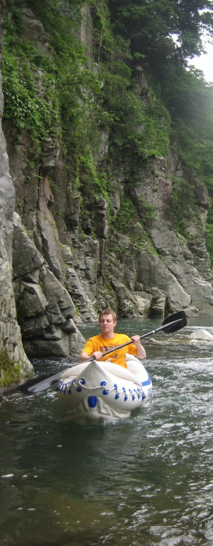 Sam Baldwin kayaks the wilds of back country Japan in his Sea Eagle 330