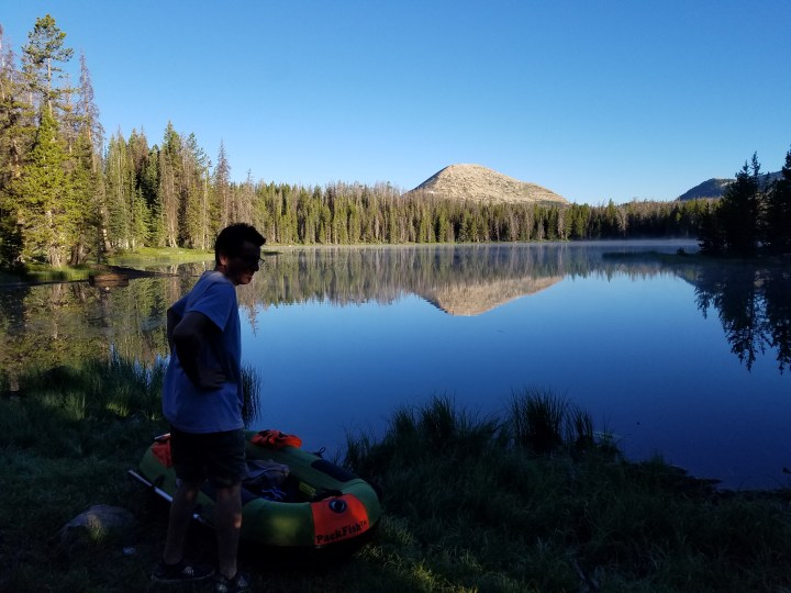 this is the reason why. rafting in the beautify Uintas