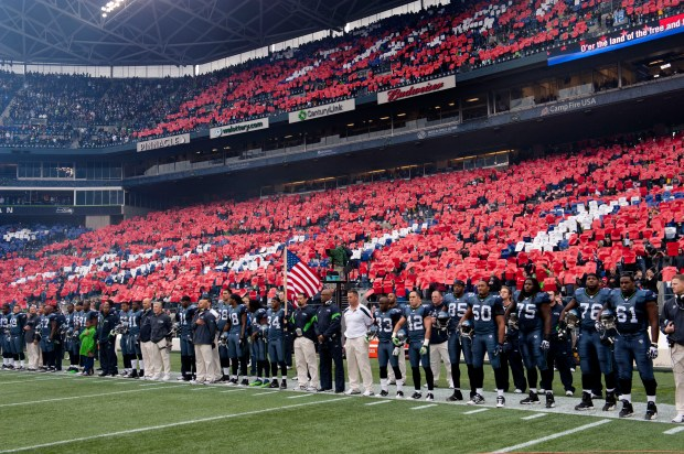 Seahawks Jets Salute to Service