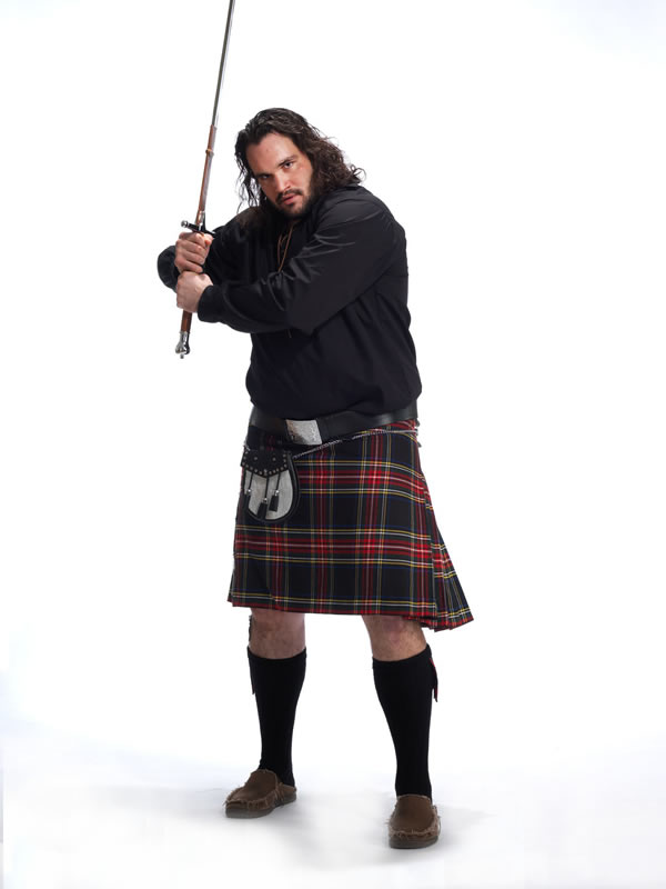 John Moffitt, Men in Kilts
