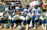 Cortez Kennedy, Terry Wooden, Chris Warren