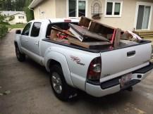 Tacoma Wood Load