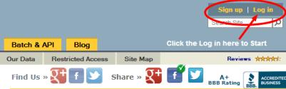 SearchBug Login Link