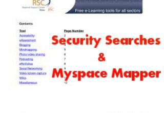 Free Search Tools & Myspace Mapper
