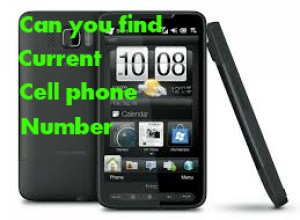 Can you find current cell phone number