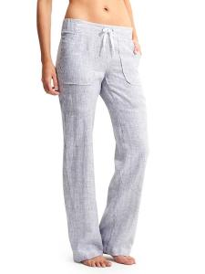 Athleta Stripe Linen Pants