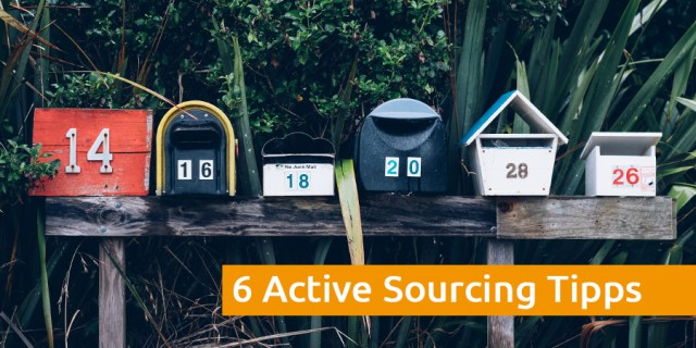 Active Sourcing Tipps
