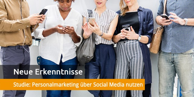 Studie Social Media für Personalmarketing