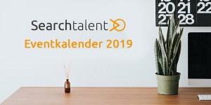 Searchtalent Eventkalender Top HR-Events 2019 Kalender Liste