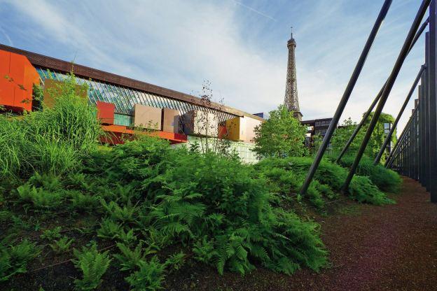 Le jardin du musée © musée du quai Branly, photo Nicolas Borel.