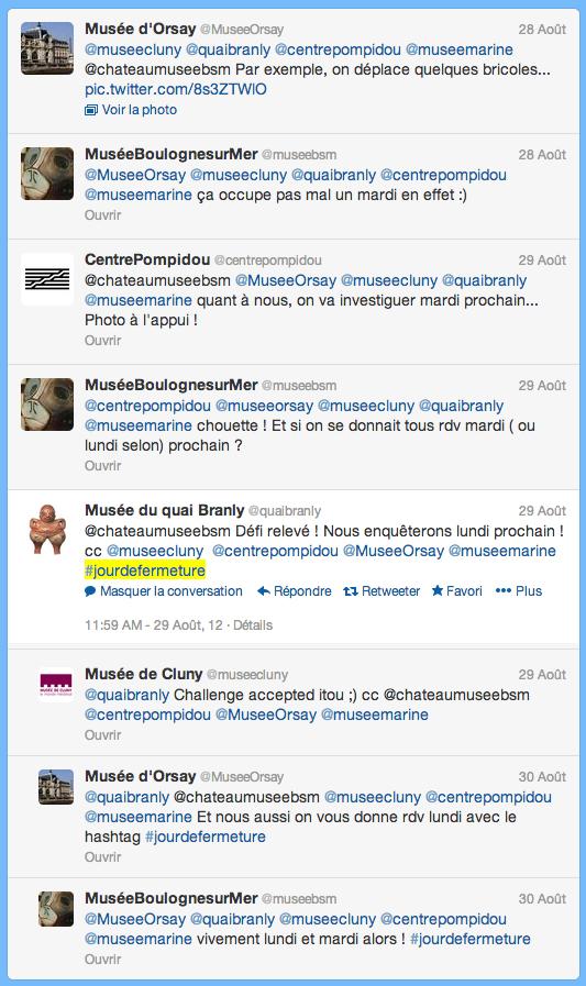 Capture d'écran, Twitter, 28 août 2012