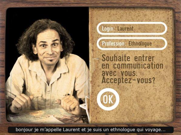 Application Les Experts quai Branly