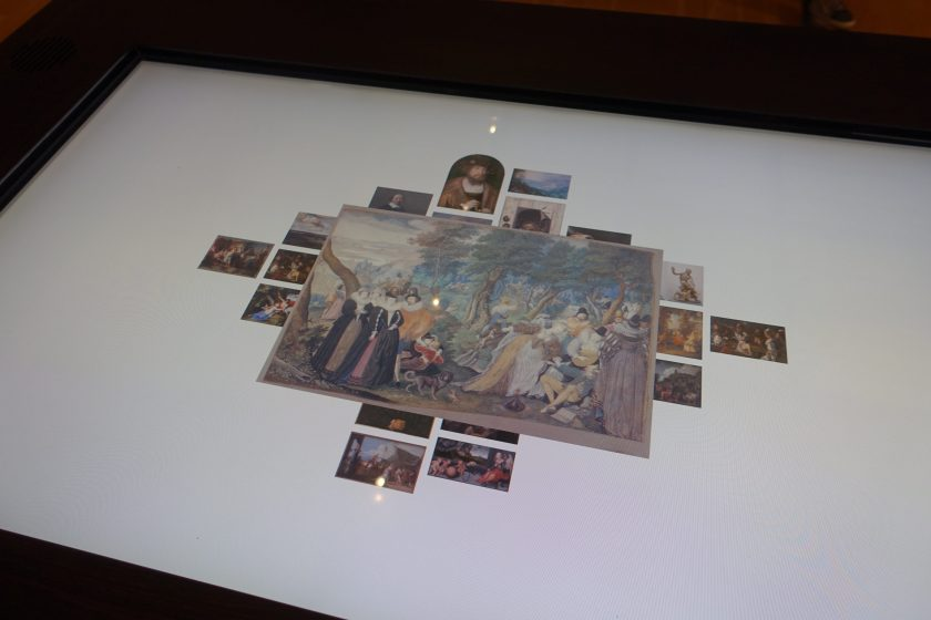 Table interactive, Statens Museum for Kunst