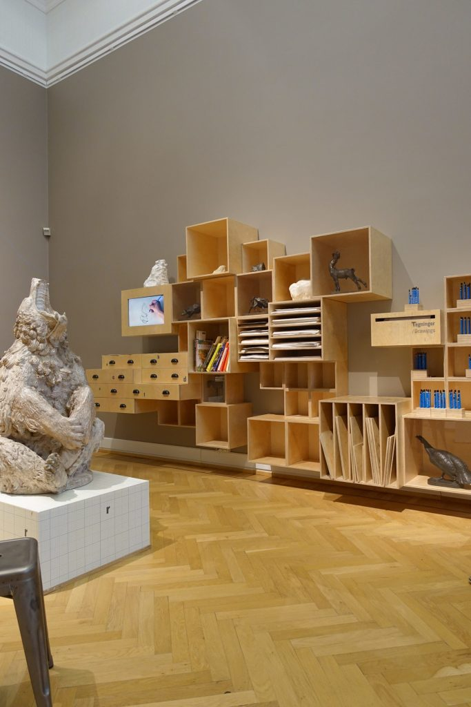 Salle de dessin, Statens Museum for Kunst