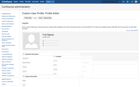 Custom User Profile 2.0 - easy administration