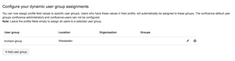 Dynamic User Groups - Attribute assignments