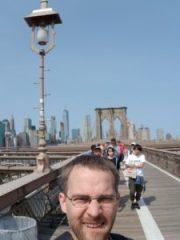 Taking in some landmarks