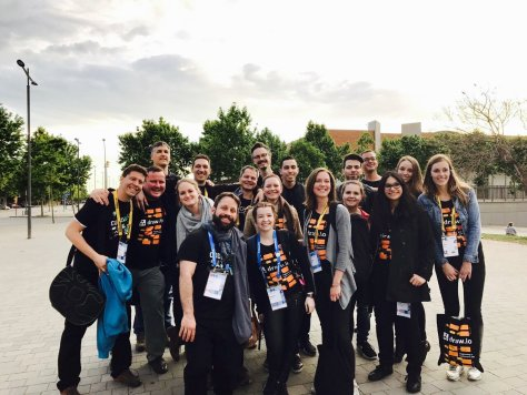 Our team at the Atlassian Summit 2017