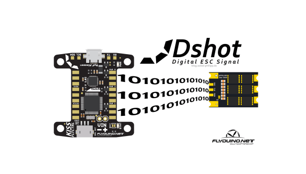 Dshot 600 ESC and FC - Flyduino KISS FC and ESC24A