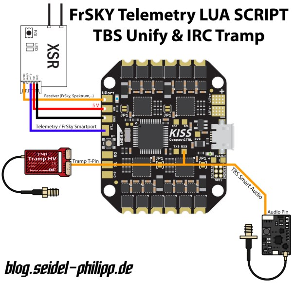 Connection Diagrams For Lua  Telemetry For Kiss Cc  Fcv1  U0026 Fcv2  U2013 Kiss  U2013 Keep It Super Simple