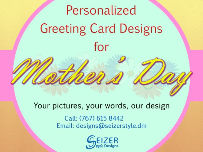 SeizerSTyle Designs Mother's Day 2013 Ad