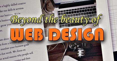 Beyond beauty of web design