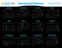 Isle Cloud 2015 Calendar