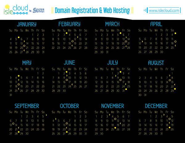 Isle Cloud 2015 DRWH Calendar