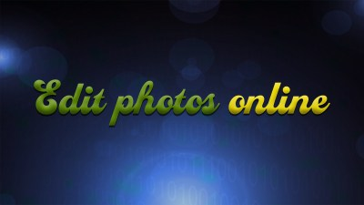 Find out how to edit images online