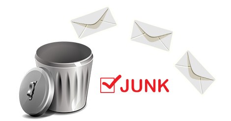 Mark mail as junk