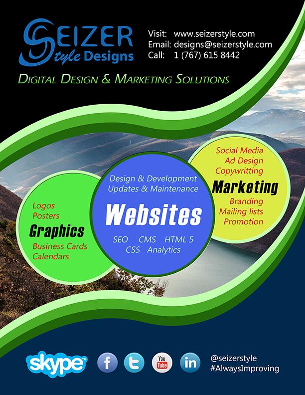 SeizerStyle Designs November 2014 Poster
