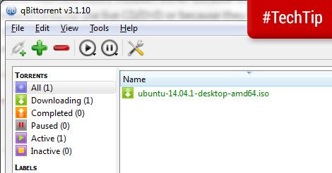 Tech Tip: qBittorrent - a minimalist BitTorrent client