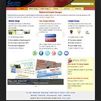 SeizerStyle Designs website (March 2013)